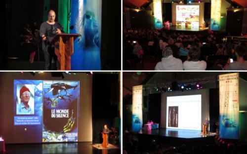 Photos des deux conférences Grand public organisées le mercredi 04 octobre