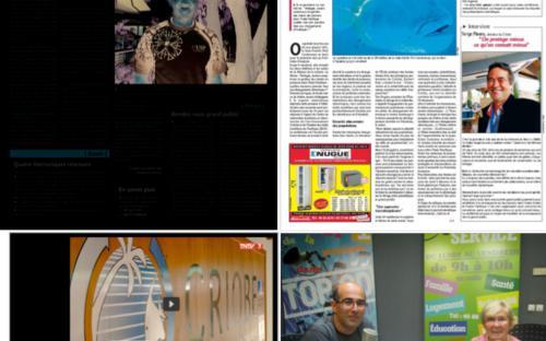 Exemples de médiatisation de la conférence IPFC via la presse écrite et la presse télévisuelle