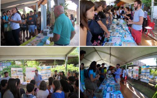 Photos des élèves présents lors du 10e IPFC Tahiti 2017 afin de les sensibiliser à l'environnement